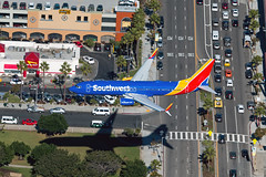 N8663A Southwest Airlines 737-800 (Centreline Photography) Tags: california southwest plane canon airplane la losangeles airport aircraft aviation airplanes flight aeroplane helicopter planes boeing chrishall lax flughafen runway aerialphotography innout spotting airliner airliners sepulveda 737 southwestairlines planespotting flug 737800 spotters boeing737 klax n8663a centrelinephotography