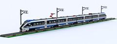 Pesa Dart ED161 PKP Intercity (Mateusz92) Tags: pkp intercity pesa dart lego train zbudujmy to