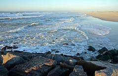 DSC_4055 (mrsdyvz) Tags: sun portugal aveiro nikon d3200 sundown portrait model beach sand sea ocean water waves glasses rock silhouttes horizon harmony sky blue clouds costa nova praia