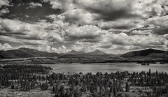 rocky mountain high.... (Alvin Harp) Tags: august 2015 frisco colorado dillonreservoir rockymountainhigh nature trees mountains lake boating sailboats dramaticclouds clouds sonyilce7rm2 fe35mmf14za alvinharp