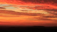 Is this Earth or Mars? (Rich Walker75) Tags: sunrise morning landscape sky cloud clouds colours colors colour color orange blue red purple dawn canon eos100d efs1585mmisusm plymouth devon uk england southwest
