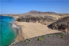 Playa de la Cera (marypink) Tags: lanzarote canaryislands canarie beach sea sky landscape paesaggio nikond800 nikkor1635mmf40