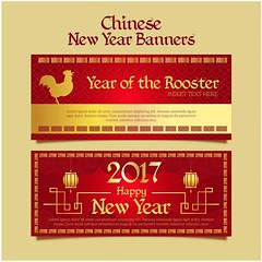 free vector Happy Chinese New Year 2017 Year Of The Rooster Banners (cgvector) Tags: 2017 abstract animal art asia background banner card celebration character chicken china chinese cock concept culture decoration design elegant element festival frame gold golden graphic greeting happiness happy hen holiday illustration isolated lunar modern nature new oriental ornament pattern prosperity red rooster shape sign style symbol traditional wallpaper year newyear happynewyear winter party chinesenewyear color event happyholidays winterbackground