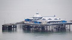 Llandudno Victorian Pier (Gill Stafford) Tags: gillstafford gillys image photograph wales northwales conwy llandudno victorianpier december winter resort holiday architcture