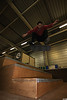 Charly Groëne.Nollie kickflip.Quimper. (sammyskateclub) Tags: skate quimper finistère bretagne charly groëne sammyskateclub skatepark indoor glacière marches stairs nollie kickflip