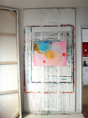 DSC0966882 (scott_waterman) Tags: ink watercolor gouache lotus lotusflower studio scottwaterman painting paper