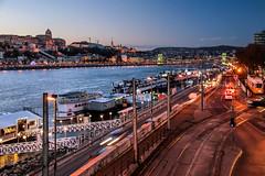 Budapest at dusk (Jorge Franganillo) Tags: budapest hungary hungra magyarorszg dusk twilight bluehour danubio danube duna cityscape