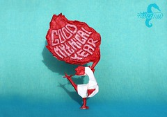 Good Mythical Year (mitanei) Tags: mitanei keepfoldingon keepfodlingon rooster yearoftherooster burningrooster roosterorigami goodmythicalyear goodmythicalmorning hahn origamihahn