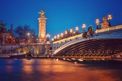 Le pont Alexandre III (pixlilli) Tags: paris poselongue canon70d canon2470