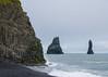 Iceland coast (Lena and Igor) Tags: europe iceland coast sea ocean surf beach black sand rocks formations waves clouds gloomy travel dslr nikon d7000 sigma 1770