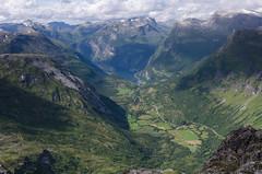 view over Geiranger (Stefan_Brinkmann) Tags: norwegen geiranger panorama fjord urlaub