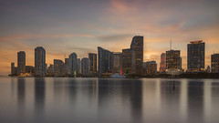 Downtown Miami Sunset (LG REALTY GROUP INC.) Tags: downtownmiami sunset miami skyline architecture colors miamisunset buildings cityscape lgphotography sonyimages sonya7ii lgrealtygroupinc sony carlzeiss