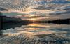 Lago delle Grazie - Tolentino (MC) (Luigi Alesi) Tags: marche tolentino italia italy macerata lago delle grazie lake tramonto sunset cielo sky nuvole clouds riflesso reflection mirror paesaggio landscape scenery natura nature nikon d750 raw