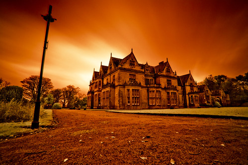 Bangor Castle - Hoya Infrared.