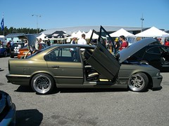 BMW 5er E34 (911gt2rs) Tags: treffen meeting show event hockenheimring tuning tief low stance e39 scheinwerfer bimmer lambodoors 535i 530i 540i 525i