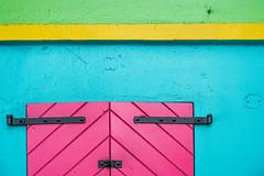 Pink Doors (Harold Hall) Tags: abstract stthomas cruiseboat