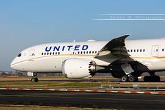 CDG - Boeing 787-8 (N26909) United Airlines (Aéro'Passion) Tags: cdg lfpg paris parisroissycharlesdegaulle aéropassion airport aircraft airlines aéroport roulage viragemétéo n26909 united b787 b7878 787 7878 boeing natw canon 60d photography photos passage piste ponta1 dreamliner