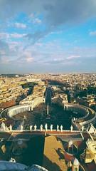 Piazza San Pietro 02/01/2017 (AliceBianconì) Tags: italy rome roma sanpietro skyline landscape city travel view vista