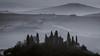 Belvedere over Val d'Orcia (cekuphoto) Tags: pienza sanquiricodorcia tuscany valdorcia cipressi colline goldenhour hills landscape sunrise winter
