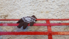 One Glove (Jacob Whittaker) Tags: glove lost found discarded thrown aberteifi abandoned cardigan ceredigion