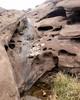 021 Water In The Cliff Stream Junction (saschmitz_earthlink_net) Tags: 2017 california orienteering vasquezrocks aguadulce losangelescounty laoc losangelesorienteeringclub