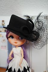 Blythe a Day 16 January 2017 - Hat (omgdolls) Tags: blythedoll blythe pureneemobody blytheaday january icy hybride