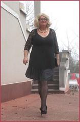 2017 - 01 - 01 - Karoll  - 016 (Karoll le bihan) Tags: femme feminization feminine travestis tgirl travestie travesti transgender effeminate transvestite crossdressing crossdresser travestisme travestissement féminisation crossdress lingerie escarpins bas stocking pantyhose stilettos