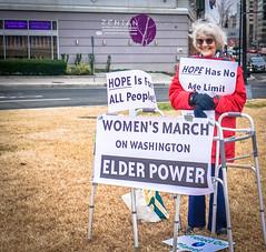 2017.01.21 Women's March Washington, DC USA 2 00131