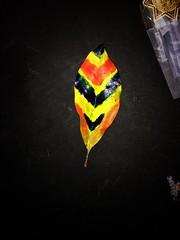 Tammy wanted me to make her an Indian Feather (eddyandtroymike@yahoo.com) Tags: iphone bright art