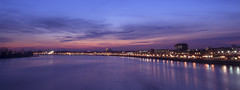 Smooth Purple (Quasqua) Tags: bordeaux city intown longexposure pontchabandelmas sunset