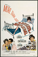 """A Breath of Scandal"" (Static Phil) Tags: sophialoren mauricechevalier johngavin angelalansbury tulliocarminati movieposter"