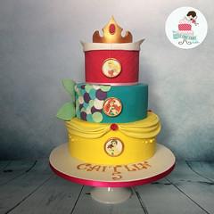 Princesses (littlecakefairydublin) Tags: princess princesses disney aurora sleeping beauty crown ariel little mermaid the belle beast cake