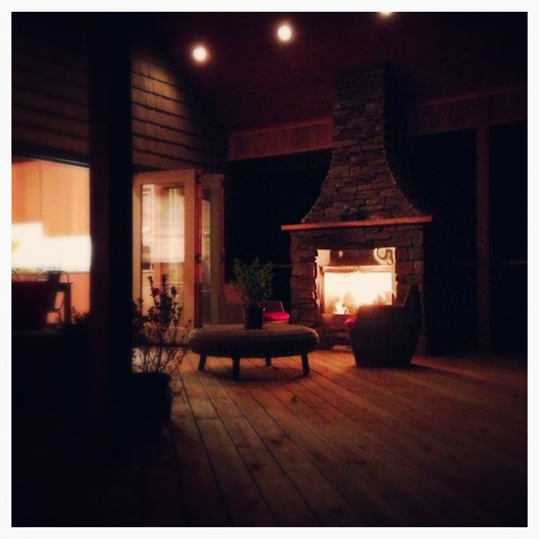 Majestic Outdoor Fireplace. Chattanooga, Tn.