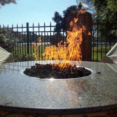 Custom HPC Firepit