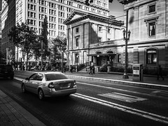 Sixth Avenue (TMimages PDX) Tags: street city people urban cars portland geotagged photography photo traffic image streetphotography explore photograph fineartphotography flickrexplore explored iphoneography