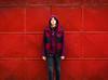 Fever (Cristi_Iulian) Tags: red urban girl metal wall de garage fever vede rosiori rosioridevede