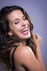 Laughing Out Loud (Guillaume.PhotoLifeStyle) Tags: portrait woman france color girl beauty laughing studio french fun model pentax femme young mode joie rire k3 happyness guillaumeg photolifestyle sigmaart35mmf14 wwwfacebookcomphotolifestyle