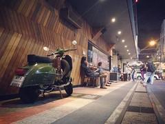 รถเก๋งอะมี แต่อยากขี่เวสป้า #vespa #vesparally #vesparally180 #scooter #scooterist #scooterrally #siam #hardrock