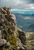 Tryfan summit view 2 (milo42) Tags: mountain wales unitedkingdom hiking gb bethesda tryfan 2015 landscapesshotinportraitformat httpwwwchrisnewhamphotographycouk cw119 go4awalkcom