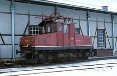 169 003   Murnau  11.02.79 (w. + h. brutzer) Tags: analog train germany deutschland nikon eisenbahn railway zug trains db locomotive 169 lokomotive murnau e69 elok eisenbahnen eloks webru