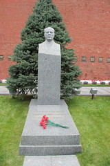 Kliment Voroshilov Grave Kremlin Wall (Ray Cunningham) Tags: климе́нт ефре́мович вороши́лов kliment voroshilov grave kremlin wall