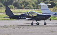 G-CIWI (goweravig) Tags: uk swansea wales eurostar aircraft visiting ev97 swanseaairport aerotechnik evektor gciwi