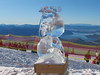Ice Carving at Treble Cone (12 July 2015)