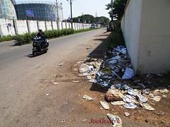 Garbage all over the Road (joegoauk73) Tags: goa rubbish vasco rubish joegoauk