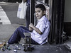 Porche Jugar (David F. Panno) Tags: boy usa newyork toys sony queens corona dscrx100 28100mmf1849 porchejugar