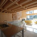 木造ラーメン構法の写真