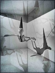 Dioramic Dunce (Paul K.-QuixoteImages) Tags: overlay conceptual diorama dunce adifferentpointofview flyingdunce