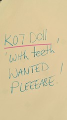 Please help!! Looking to adopt a K07 doll....2 possible sales didn't happen and now I'm desperate!!!