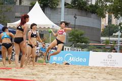 DSC03713 (rickytanghkg) Tags: beach hongkong championship women sony international match 70300mm handball kwaichung descalças a550 filosofianatural sonya550