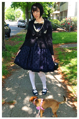Day08-02 (nezumichuu) Tags: cute me fashion lolita nezumi lolitafashion dailycoordinate mylifewithmister